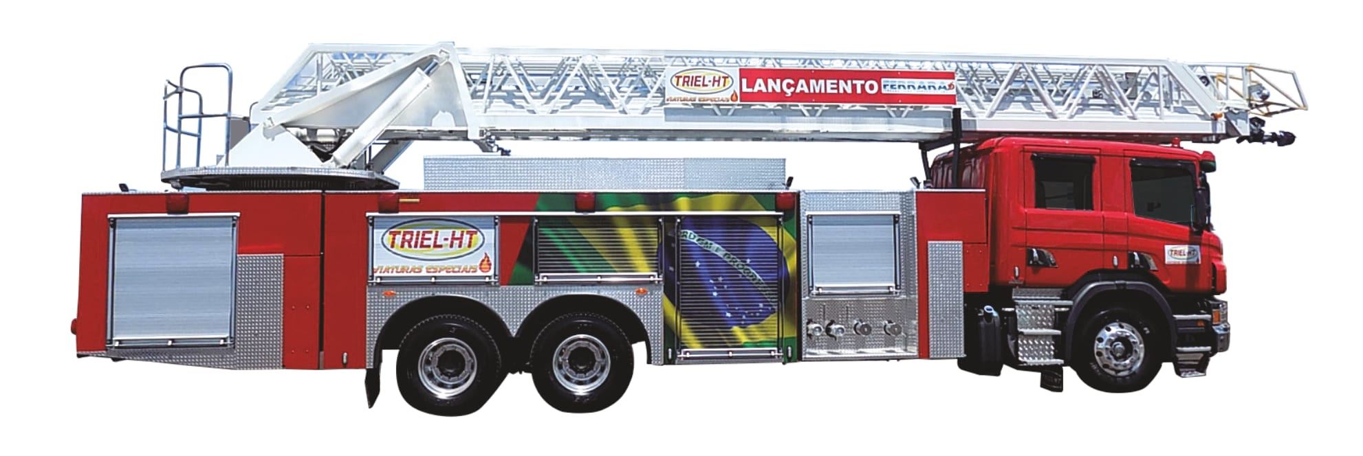 Triel customises Scania turntable ladder truck with Allison